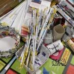 cannucce, vasetti cestino, strisce