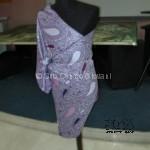abito con foulard